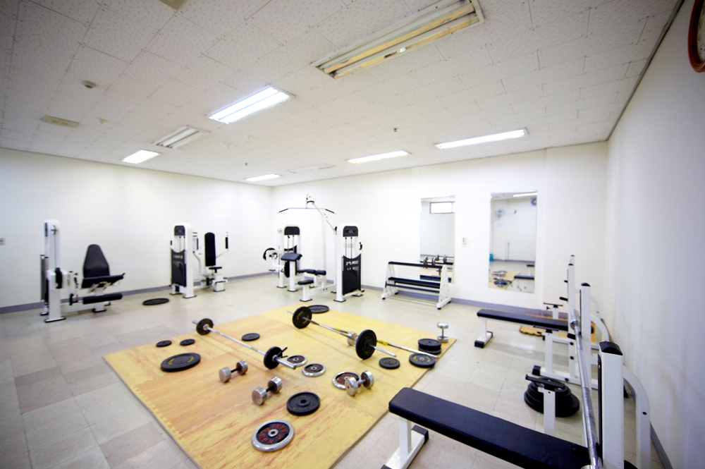 체력단련실(B1층)_Weight room(B1 floor)